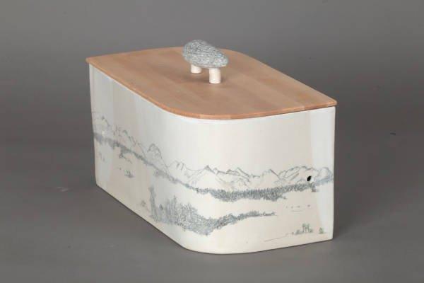besondere keramik brott pfe und brotk sten mit holzdeckel brotboxen nach ma. Black Bedroom Furniture Sets. Home Design Ideas